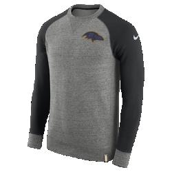 Мужской свитшот Nike AW77 (NFL Ravens)Мужской свитшот Nike AW77 (NFL Ravens) из комфортного хлопка украшен клубными деталями.<br>
