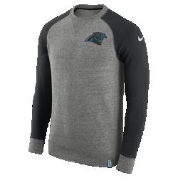Мужской свитшот Nike AW77 (NFL Panthers)Мужской свитшот Nike AW77 (NFL Panthers) из комфортного хлопка украшен клубными деталями.<br>