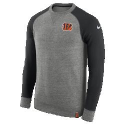 Мужской свитшот Nike AW77 (NFL Bengals)Мужской свитшот Nike AW77 (NFL Bengals) из комфортного хлопка украшен клубными деталями.<br>