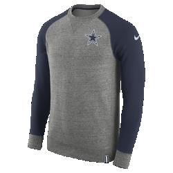 Мужской свитшот Nike AW77 (NFL Cowboys)Мужской свитшот Nike AW77 (NFL Cowboys) из комфортного хлопка украшен клубными деталями.<br>