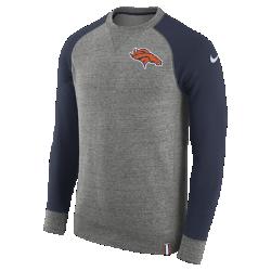 Мужской свитшот Nike AW77 (NFL Broncos)Мужской свитшот Nike AW77 (NFL Broncos) из комфортного хлопка украшен клубными деталями.<br>
