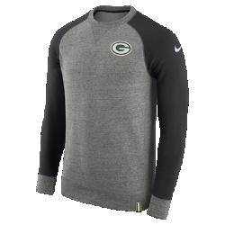Мужской свитшот Nike AW77 (NFL Packers)Мужской свитшот Nike AW77 (NFL Packers) из комфортного хлопка украшен клубными деталями.<br>