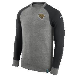Мужской свитшот Nike AW77 (NFL Jaguars)Мужской свитшот Nike AW77 (NFL Jaguars) из комфортного хлопка украшен клубными деталями.<br>
