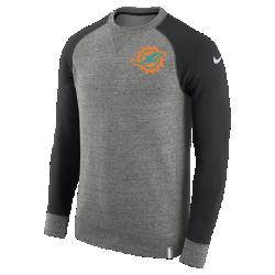 Мужской свитшот Nike AW77 (NFL Dolphins)Мужской свитшот Nike AW77 (NFL Dolphins) из комфортного хлопка украшен клубными деталями.<br>