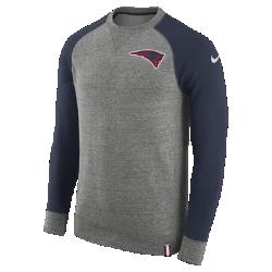 Мужской свитшот Nike AW77 (NFL Patriots)Мужской свитшот Nike AW77 (NFL Patriots) из комфортного хлопка украшен клубными деталями.<br>
