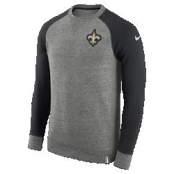 Мужской свитшот Nike AW77 (NFL Saints)Мужской свитшот Nike AW77 (NFL Saints) из комфортного хлопка украшен клубными деталями.<br>