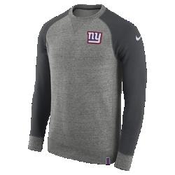 Мужской свитшот Nike AW77 (NFL Giants)Мужской свитшот Nike AW77 (NFL Giants) из комфортного хлопка украшен клубными деталями.<br>