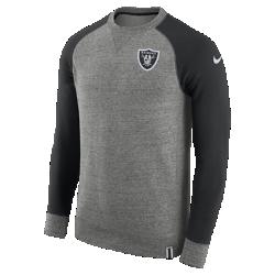 Мужской свитшот Nike AW77 (NFL Raiders)Мужской свитшот Nike AW77 (NFL Raiders) из комфортного хлопка украшен клубными деталями.<br>