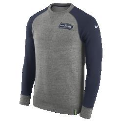 Мужской свитшот Nike AW77 (NFL Seahawks)Мужской свитшот Nike AW77 (NFL Seahawks) из комфортного хлопка украшен клубными деталями.<br>