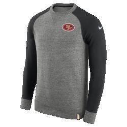 Мужской свитшот Nike AW77 (NFL 49ers)Мужской свитшот Nike AW77 (NFL 49ers) из комфортного хлопка украшен клубными деталями.<br>