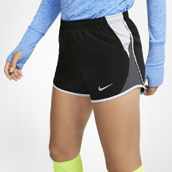 Женские беговые шорты Nike 10K 7,5 смЖенские беговые шорты Nike 10K 7,5 см обеспечивают надежную плотную посадку, вентиляцию и комфорт благодаря боковым вставкам из сетки и эластичному поясу.<br>