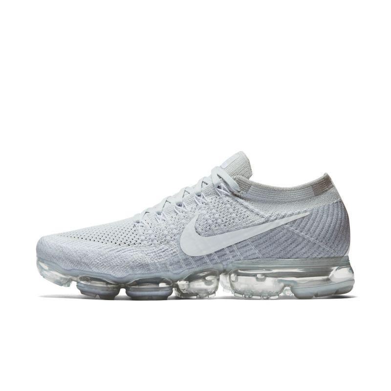 Nike Air VaporMax Flyknit Men's Running Shoe - Silver