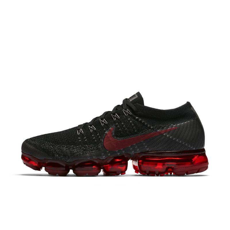Nike Air VaporMax Flyknit Men's Running Shoe - Black Image