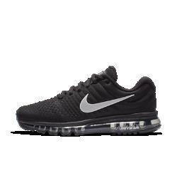 Мужские кроссовки для бега Nike Air Max 2017Мужские беговые кроссовки Nike Air Max 2017 с бесшовным верхом из материала Flymesh обеспечивают поддержку и вентиляцию. Легендарная система амортизации Max Air обеспечивает легкость и плавность движений при каждом шаге во время бега и простых прогулок.  Воздухопроницаемость и комфорт  Легкий материал Flymesh пропускает воздух, предотвращая перегрев.  Плавность и комфорт  Вставка Max Air во всю длину и слой легкого пеноматериала Cushlon прямо под стопой создают превосходную амортизацию для бега и на каждый день. Благодаря амортизации движения становятся более плавными.  Превосходное сцепление  Подметка из мягкой резины с вафельным протектором обеспечивает прочность и превосходное сцепление на беговом треке, пересеченной местности и асфальте.<br>