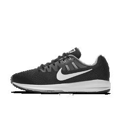 Мужские беговые кроссовки Nike Air Zoom Structure 20Мужские беговые кроссовки Nike Air Zoom Structure 20 с технологией Dynamic Fit и более широким основанием, чем у предыдущей версии, стабилизируют стопу во время бега. Легкие дышащиематериалы и вставка Nike Zoom Air в передней части обеспечивают упругость при каждом шаге.  Превосходная стабилизация  Эти кроссовки с пеноматериалом двух уровней плотности разработаны для бегунов, которым требуется дополнительная стабилизация стопы при беге.  Ощущение поддержки  Нити Flywire работают вместе со шнуровкой, обеспечивая поддержку стопы и комфорт. Кроме того, эластичный ремешок в области свода стопы предотвращает проскальзывание во время бега.  Воздухопроницаемость и комфорт  Внутренняя вставка из сетки обхватывает стопу и обеспечивает вентиляцию. А материал Flymesh с внешней стороны обеспечивает прохладу и комфорт от старта до финиша.<br>