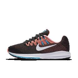 Женские беговые кроссовки Nike Air Zoom Structure 20Женские беговые кроссовки Nike Air Zoom Structure 20 с более широким задником обеспечивают непревзойденную стабилизацию и поддержку, а также упругую и гибкую амортизацию, которая делает каждый шаг комфортным.<br>