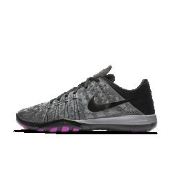 Женские кроссовки для тренинга Nike Free TR 6 MetallicЖенские кроссовки для тренинга Nike Free TR 6 Metallic обеспечивают гибкость и стабилизацию во время тренировок благодаря инновационному рисунку подметки, который расширяется, сгибается и сжимается вместе со стопой при каждом приседе и рывке.<br>