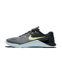 Женские кроссовки для тренинга Nike Metcon 3Женские кроссовки для тренинга Nike Metcon 3 с полностью обновленным дизайном созданы для самых интенсивных тренировок&amp;#8212;от упражнений с канатом и у стены до бега на короткие дистанции и поднятия веса.<br>