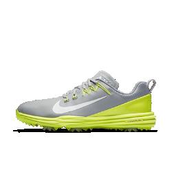 Мужские кроссовки для гольфа Nike Lunar Command 2Мужские кроссовки для гольфа Nike Lunar Command 2 с технологией Flywire и легкой системой амортизации обеспечивают непревзойденную фиксацию и комфорт на протяжении всей игры.  Надежная посадка  Технология Nike Flywire — это ультралегкие и невероятно прочные нити, интегрированные с шнурками для непревзойденной стабилизации и комфорта в средней части стопы.  Легкость и амортизация  Подошва из мягкого, легкого и упругого материала Lunarlon обеспечивает абсолютный комфорт.  Оптимальный контроль  Подметка из материала TPU создает стабилизацию для превосходного контроля движений.<br>