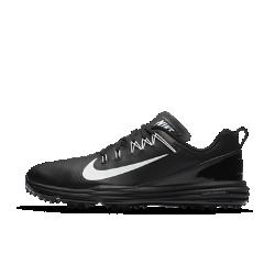 Мужские кроссовки для гольфа Nike Lunar Command 2 (на широкую ногу)Мужские кроссовки для гольфа Nike Lunar Command 2 (на широкую ногу) с технологией Flywire и невесомой амортизацией обеспечивают непревзойденную фиксацию и комфорт на протяжении всей игры. Более широкая стелька обеспечивает длительный комфорт.  Надежная посадка  Технология Nike Flywire&amp;#8212;это ультралегкие и невероятно прочные нити, интегрированные с шнурками для непревзойденной стабилизации и комфорта в средней части стопы.  Амортизация без утяжеления  Подошва из мягкого, легкого и упругого материала Lunarlon обеспечивает абсолютный комфорт.  Оптимальный контроль  Легкий супинатор в средней части стопы создает стабилизацию для превосходного контроля движений.<br>
