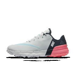 Женские кроссовки для гольфа Nike FI FlexЖенские кроссовки для гольфа Nike FI Flex обеспечивают динамическую гибкость, естественность движений и невесомую амортизацию для комфорта на протяжении всей игры.  Естественная гибкость  Глубокие желобки в подметке повторяют естественные движения стопы для поддержки и плавности.  Мягкая амортизация  Легкая подошва из материала Phylon обеспечивает мягкую амортизацию, а бортик и язычок из пеноматериала обхватывают верхнюю часть стопы и голеностоп для комфорта.  Защита от непогоды  Верх из нейлона с прочным водоотталкивающим покрытием защищает от влаги в дождливую погоду. Ткань рипстоп в передней части стопы обеспечивает дополнительную прочность.<br>