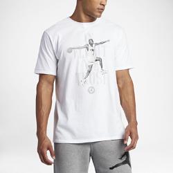 """Мужская футболка Air Jordan 7 """"In Flight We Trust""""Мужская футболка Air Jordan 7 """"In Flight We Trust"""" из чистого хлопка обеспечивает длительный комфорт.<br>"""