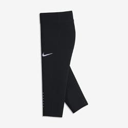 Беговые тайтсы длиной 3/4 для девочек школьного возраста Nike PowerБеговые тайтсы длиной 3/4 для девочек школьного возраста Nike Power с компрессионной посадкой и дышащей конструкцией обеспечивают поддержку и комфорт во время любой пробежки.  Компрессионная посадка  Компрессионная ткань Nike Power обеспечивает поддержку мышц для естественной свободы движений во время бега.  Воздухопроницаемая конструкция  Технология Dri-FIT обеспечивает комфорт, а вставки из сетки создают ощущение прохлады от старта до финиша.  Надежное хранение  Карман на молнии на поясе сзади позволяет брать с собой необходимые мелочи.<br>