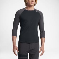 Мужская футболка для серфинга Hurley Dry Icon с рукавом 3/4Мужская футболка для серфинга Hurley Dry Icon с рукавом 3/4 из эластичной влагоотводящей ткани обеспечивает максимальный комфорт и полную свободу движений. Ткань с защитой от УФ-излучения блокирует солнечные лучи для дополнительной защиты.<br>