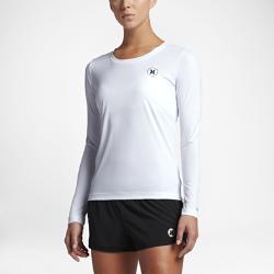 Женская футболка для серфинга Hurley Quick Dry IconЖенская футболка для серфинга с длинным рукавом Hurley Quick Dry Icon из эластичной влагоотводящей ткани обеспечивает комфорт и свободу движений в воде и на суше.<br>
