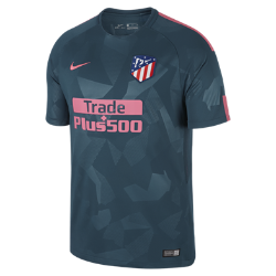 Мужское футбольное джерси 2017/18 Atletico de Madrid Stadium ThirdМужское футбольное джерси 2017/18 Atletico de Madrid Stadium Third из легкой влагоотводящей ткани обеспечивает охлаждение и комфорт.<br>