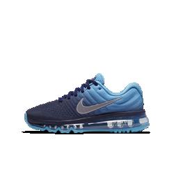 Беговые кроссовки для школьников Nike Air Max 2017Беговые кроссовки для школьников Nike Air Max 2017 с верхом из дышащей сетки и адаптивной амортизацией обеспечивают абсолютный комфорт во время тренировок на треке и на каждый день.<br>