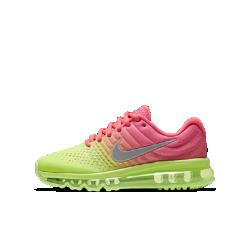 Беговые кроссовки для школьников Nike Air Max 2017Легкие беговые кроссовки для школьников Nike Air Max 2017 обеспечивают гибкость и амортизацию на каждой пробежке благодаря полноразмерной вставке.<br>