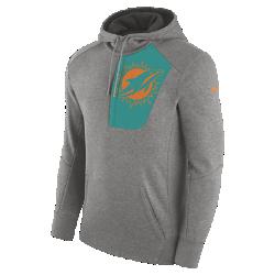 Мужская худи Nike Fly Fleece (NFL Dolphins)Мужская худи Nike Fly Fleece (NFL Dolphins) из мягкой и теплой ткани украшена клубной символикой.<br>