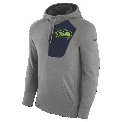Мужская худи Nike Fly Fleece (NFL Seahawks)Мужская худи Nike Fly Fleece (NFL Seahawks) из мягкой и теплой ткани украшена клубной символикой.<br>