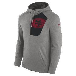 Мужская худи Nike Fly Fleece (NFL 49ers)Мужская худи Nike Fly Fleece (NFL 49ers) из мягкой и теплой ткани украшена клубной символикой.<br>