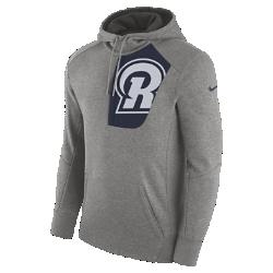Мужская худи Nike Fly Fleece (NFL Rams)Мужская худи Nike Fly Fleece (NFL Rams) из мягкой и теплой ткани украшена клубной символикой.<br>
