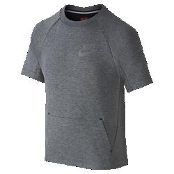 Свитшот для мальчиков школьного возраста Nike Sportswear Tech FleeceСвитшот для мальчиков школьного возраста Nike Sportswear Tech Fleece из легкой и теплой ткани с рукавами покроя реглан обеспечивает легкость, тепло и свободу движений.<br>