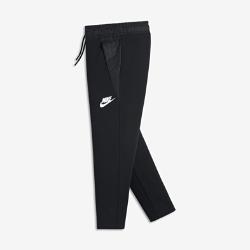 Брюки для девочек школьного возраста Nike Sportswear Tech FleeceБрюки для девочек школьного возраста Nike Sportswear Tech Fleece отлично подойдут к любимым кроссовкам. Легкий и мягкий технологичный флис сохраняет тепло, свободная посадка выгодно подчеркивает фигуру, а крой до щиколотки позволяет создать стильный образ.<br>