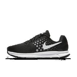 Женские беговые кроссовки Nike Air Zoom SpanЖенские беговые кроссовки Nike Air Zoom Span с тканым вкладышем в средней части стопы и упругой амортизацией обеспечивают стабилизацию и защиту от ударных нагрузок для скоростных пробежек.  Преимущества  Передняя часть из сетки Engineered mesh и неэластичный тканый вкладыш обеспечивает поддержку, стабилизацию и вентиляцию Подошва из материала Cushlon двойной плотности для стабилизации Вставки Nike Zoom Air в передней части стопы обеспечивают оптимальную низкопрофильную амортизацию Резина Duralon в передней части стопы повышает амортизацию Вафельная подметка обеспечивает надежное сцепление с разными поверхностями Технология динамической поддержки и защитный барьер Crash Rail с разделением для плавных движений  Информация о товаре  Глубокие эластичные желобки для естественной свободы движений Мягкий бортик для фиксации и комфорта Вес: 207 г (женский размер 8)<br>