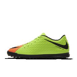 Футбольные бутсы для игры на газоне Nike HypervenomX Phade 3Футбольные бутсы для игры на газоне Nike HypervenomX Phade 3 с увеличенной зоной удара, рельефным верхом и асимметричной шнуровкой обеспечивают превосходное касание мяча.<br>
