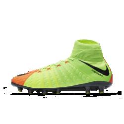 Футбольные бутсы для игры на искусственном газоне Nike Hypervenom Phantom 3 DFФутбольные бутсы для игры на искусственном газоне Nike Hypervenom Phantom 3 DF, созданные для атакующих игроков, обеспечивают плотную посадку, позволяют быстро менять направление движения на полях с искусственным газоном и увеличивают скорость удара.<br>