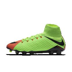 Футбольные бутсы для игры на твердом грунте Nike Hypervenom Phatal 3 DFФутбольные бутсы для игры на твердом грунте Nike Hypervenom Phatal 3 DF, созданные для атакующих игроков, позволяют быстро менять направление движения на полях с короткой травой.<br>