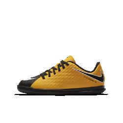 Футбольные бутсы для игры в зале/на поле для дошкольников/школьников Nike Jr. HypervenomX Phade 3Футбольные бутсы для игры в зале/на поле для дошкольников/школьников Nike Jr. HypervenomX Phade 3 обеспечивают комфорт, маневренность и превосходный контроль мяча в зале и на улице.<br>