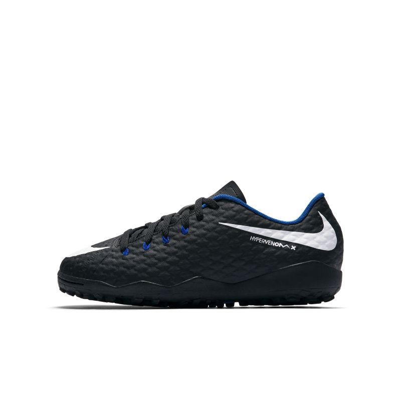 Nike Jr. HypervenomX Phelon 3 Younger/Older Kids'Turf Football Shoe - Black Image