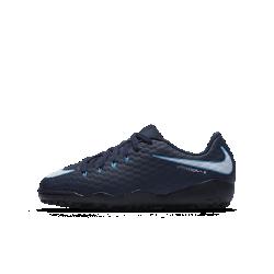 Футбольные бутсы для игры на газоне для дошкольников/школьников Nike Jr. HypervenomX Phelon 3Футбольные бутсы для дошкольников/школьников для игры на газоне Nike Jr. HypervenomX Phelon 3 обеспечивают непревзойденное сцепление с поверхностью для невероятной маневренности.<br>