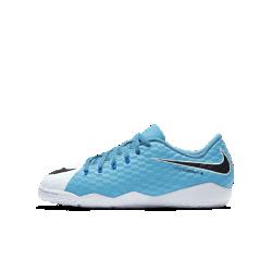 Футбольные бутсы для игры в зале/на поле для дошкольников/школьников Nike Jr. HyperVenomX Phelon 3Футбольные бутсы для игры в зале/на поле для дошкольников/школьников Nike Jr. HyperVenomX Phelon 3 обеспечивают непревзойденное сцепление с поверхностью для невероятной маневренности.<br>