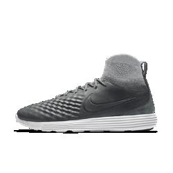 Мужские кроссовки Nike Lunar Magista II FlyknitМужские кроссовки Nike Lunar Magista II Flyknit — это созданные для неудержимых плеймейкеров футбольные бутсы Magista в новом исполнении для городских улиц с верхом из кожи и материала Flyknit.<br>