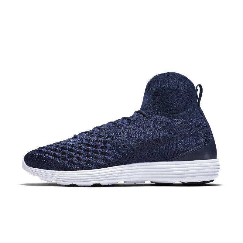 Nike Lunar Magista II Flyknit Men's Shoe - Blue Image