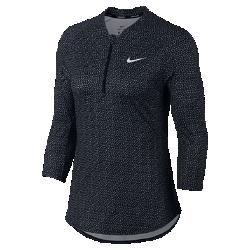 Женская футболка с рукавом 3/4 NikeCourtЖенская футболка с рукавом 3/4 NikeCourt из влагоотводящей ткани обеспечивает комфорт во время игры.<br>