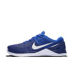 Мужские кроссовки для тренинга Nike Metcon DSX FlyknitБолее легкие по сравнению с Nike Metcon 3 мужские кроссовки для тренинга Nike Metcon DSX Flyknit созданы для самых интенсивных тренировок — от упражнений с канатом и у стены до бега на короткие дистанции и поднятия веса.<br>
